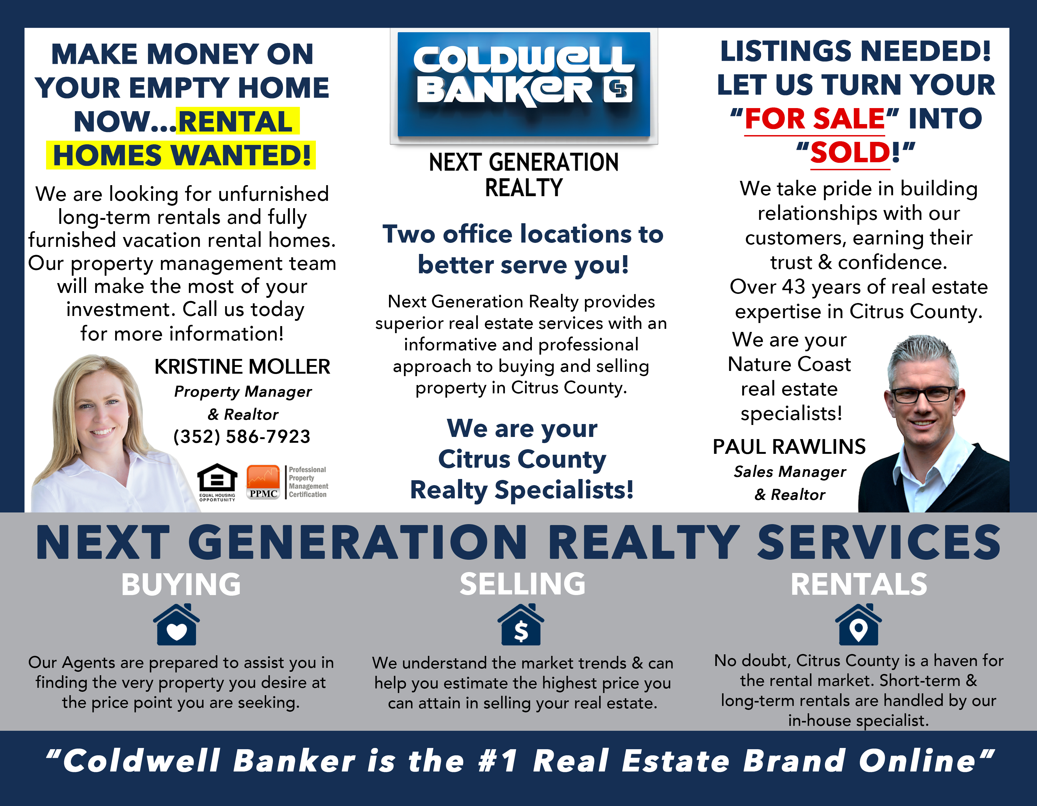 Citrus County Real Estate- Coldwell Banker Next Generation